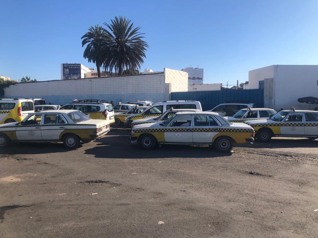 taxi parking