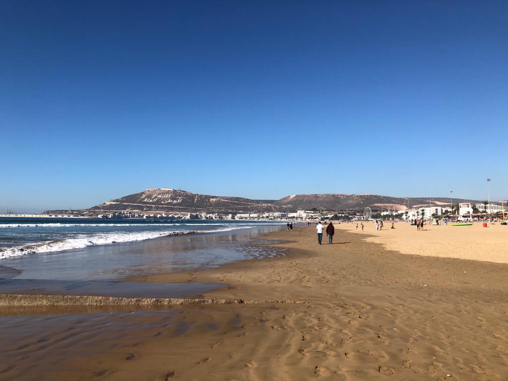 Agadir pláž